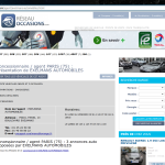 Screenshot-Garage- concessionnaire PARIS (75) - EXELMANS AUTOMOBILES vous propose 3 annonces - Google Chrome