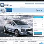 Screenshot-Occasion auto : achat vente voiture occasion. 3183 annonces auto occasion dont peugeot - Google Chrome